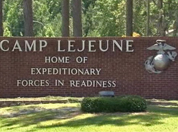 Camp Lejeune gate