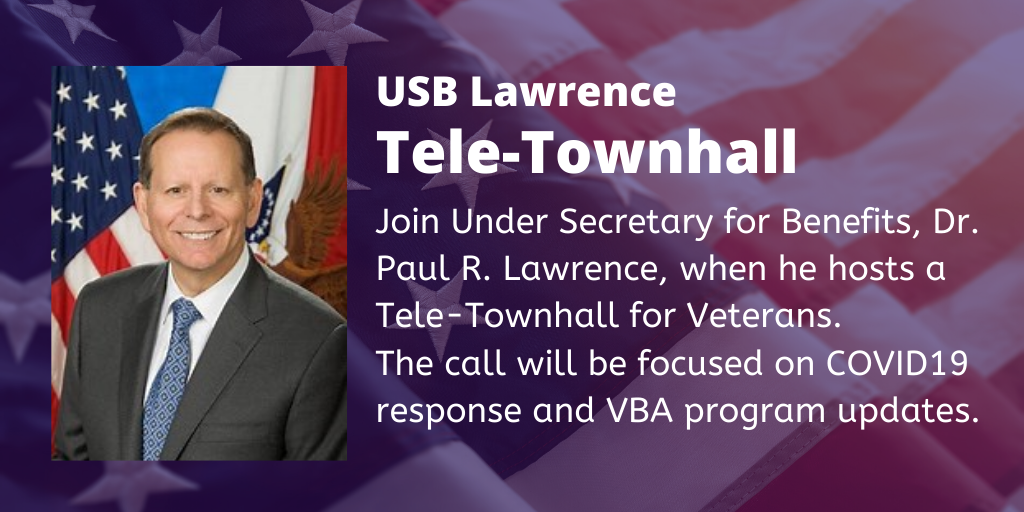 Under Secretary Paul Lawrence Live Tele-Townhalls