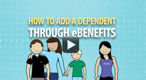 How to add a dependent