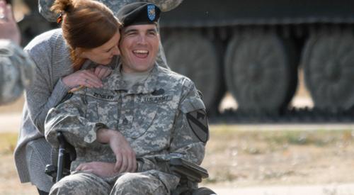 Soldado con terapeuta