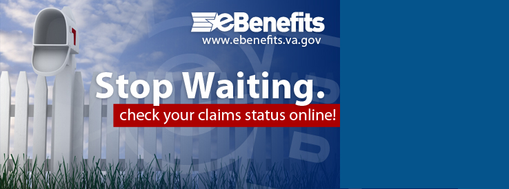 mailbox and fence with Stop Waiting Check your Claims Status Online in eBenefits
