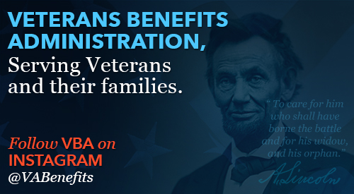 Veterans Benefits Administration, Serving Veterans and their families.