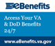 eBenefits Web Badge