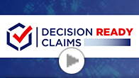 Screenshot of Decision Ready Claims video