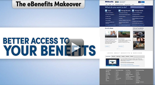 eBenefits Makeover. Better Access to Your Benefits.
