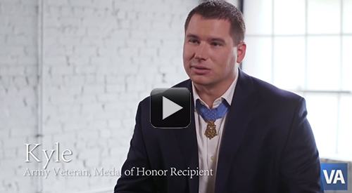 Medal of Honor recipient Kyle White