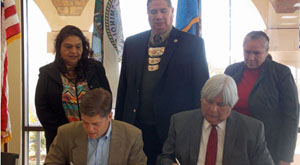 Signing of MOU Between VA and Seminole Nation of Oklahoma