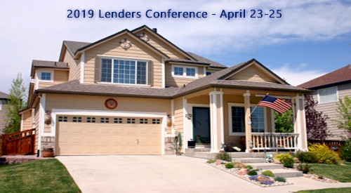 2019 Lenders Conference Information Page