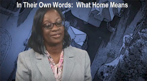 In Their Own Words - What Home Means