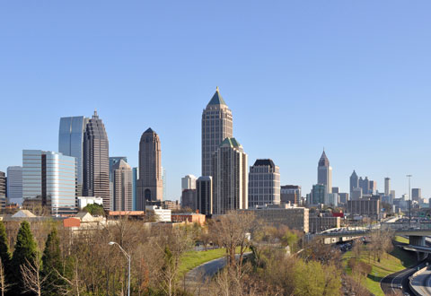 Picture of City of Atlanta Skyline