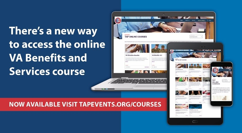 New website for the online TAP curriculum