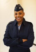 picture of woman servicemember