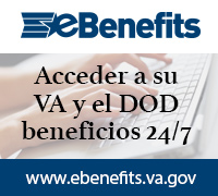 Sus Beneficios de VA y DoD Están Disponibles en Línea. www.ebenefits.va.gov
