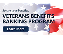 Get more information on the Veterans Benefits Banking Program